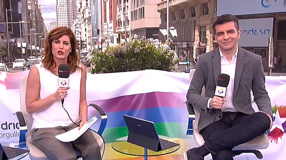 Foto: Telemadrid es una de las cadenas que más se han volcado con el World Pride Madrid. (Telemadrid)