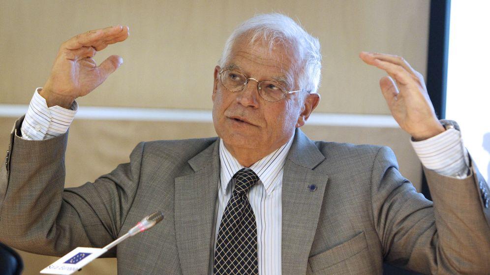 Foto: El exministro socialista Josep Borrell. (EFE)