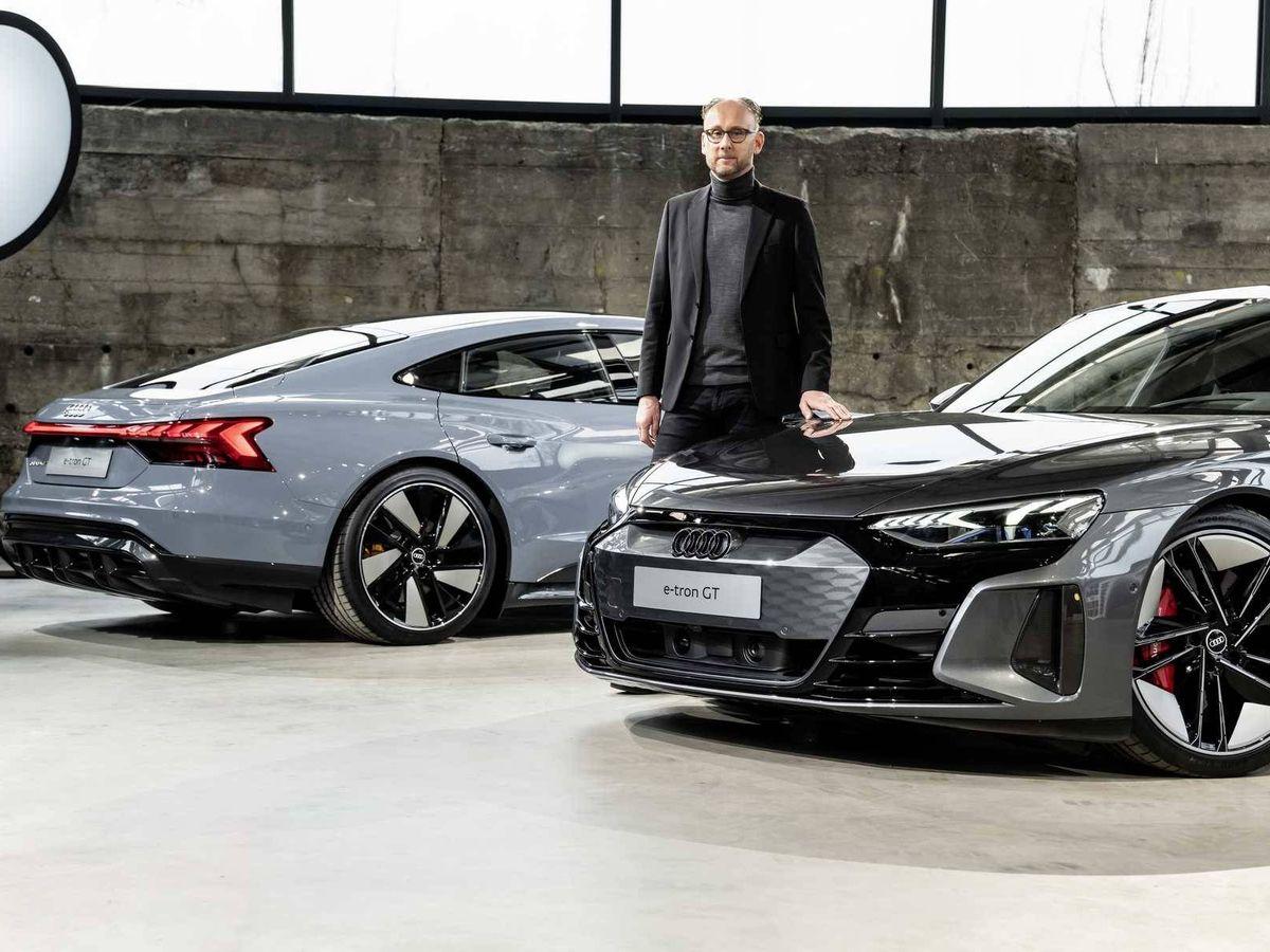 Foto: El RS e-tron GT es el tope de gama de la nueva berlina deportiva eléctrica de Audi.
