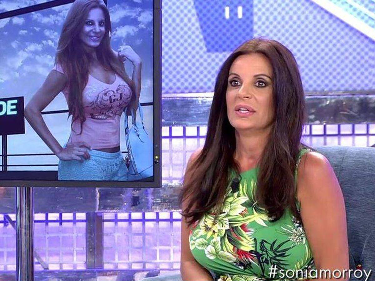 Foto: Sonia Monroy, en 'Sábado Deluxe'. (Mediaset España)