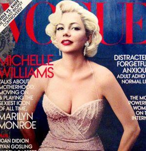 Michelle Williams, la nueva Marilyn de Hollywood