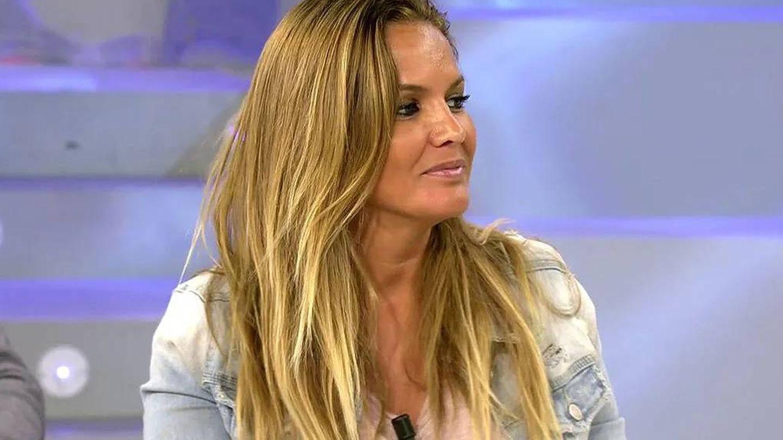Marta López, en 'Sálvame'. (Telecinco)