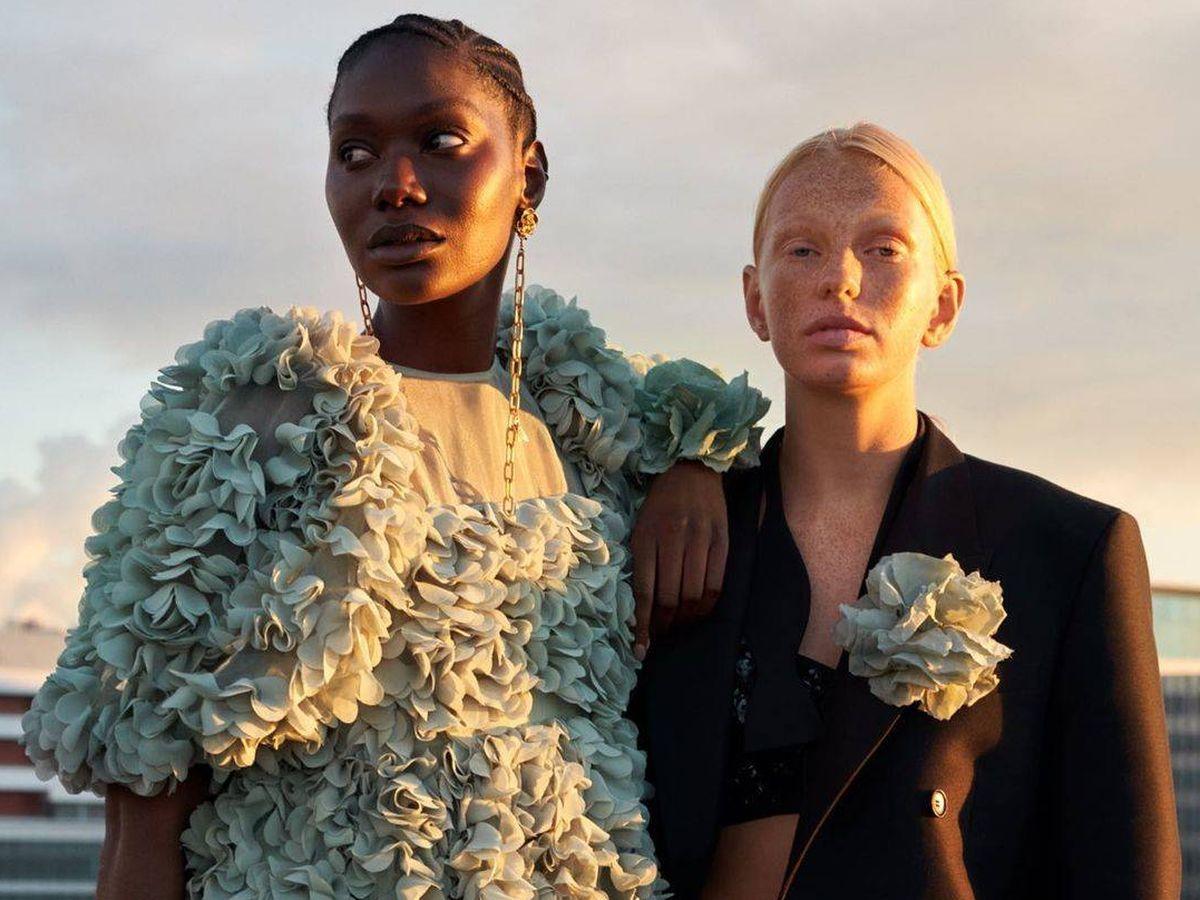 Foto: HyM presenta su Concious Collection de la temporada y estos vestidos son un must. (Instagram, @hm)