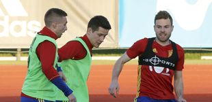 Post de Illarramendi retoma en la selección el reto que no consiguió con el Real Madrid