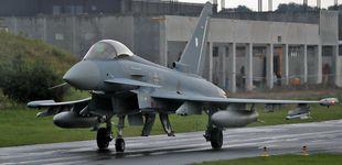 Post de Un piloto fallece en el choque de dos aviones Eurofighter en Alemania