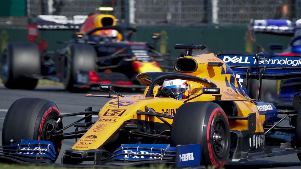 Foto: Carlos Sainz durante el pasado Gran Premio de Australia. (EFE)