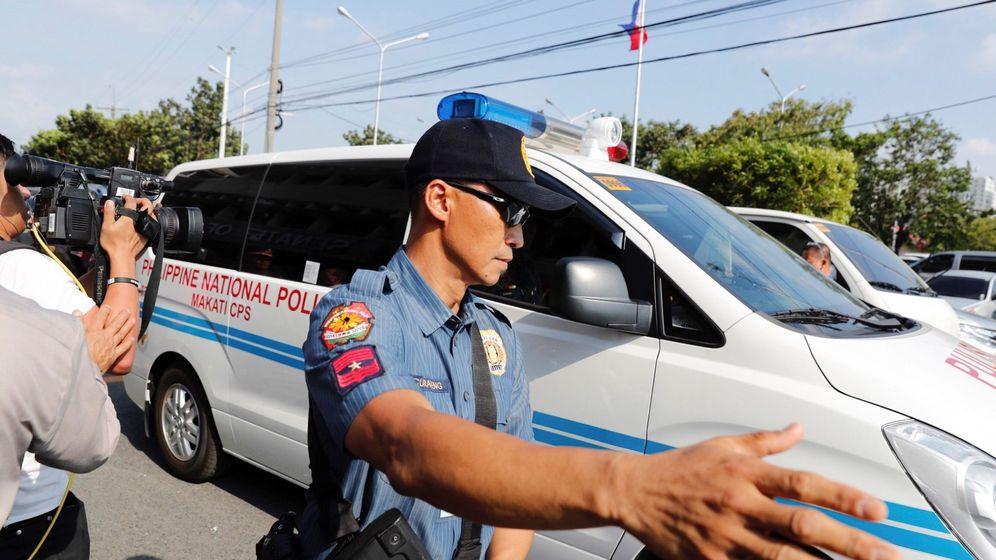 Foto: La policía filipina investiga las causas del suceso (EFE/Mark Cristino)