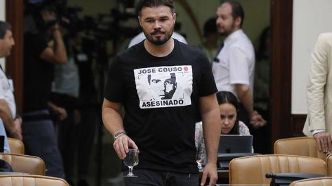 Rufián: Delgado debe dimitir como cualquier compinche de Villarejo