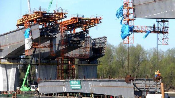 Foto: Construcción de un puente en Varsovia. (Sando)