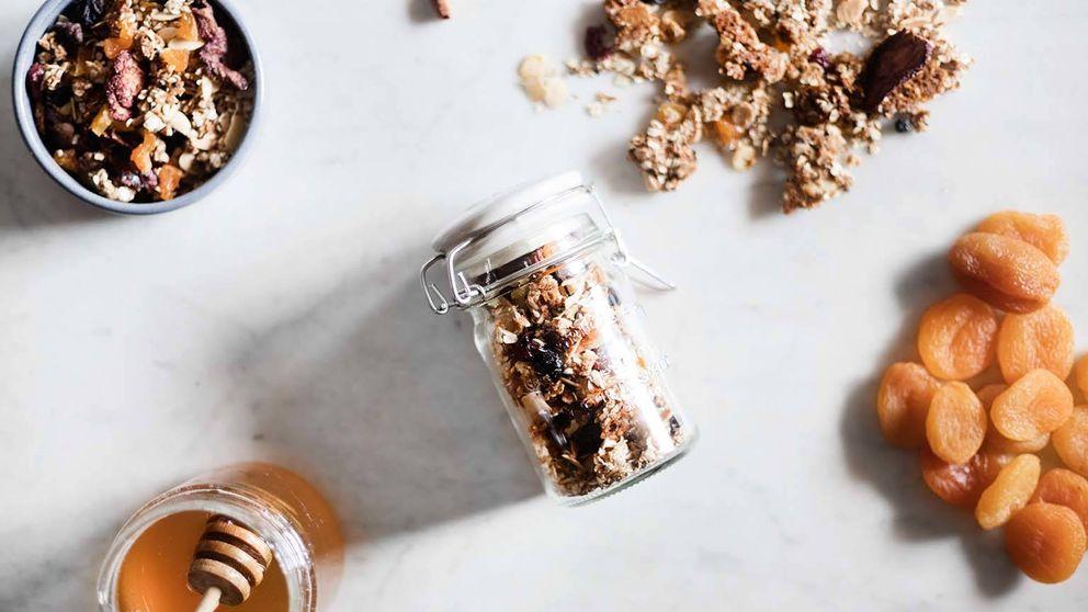 Granola casera, una dosis de energía natural para comenzar el día