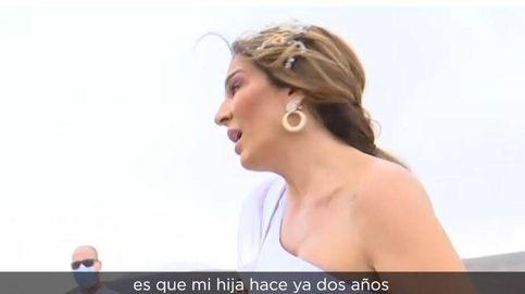 El tenso encuentro de 'Socialité' y Raquel Bollo en la boda de Anabel Pantoja