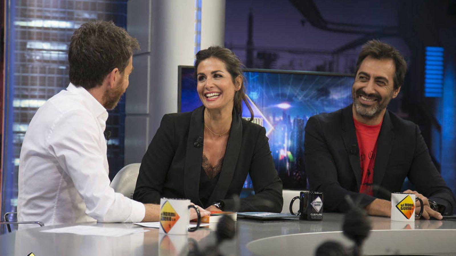 Foto: Nuria Roca y Juan del Val hablan de su relación abierta en 'El hormiguero'. (Antena 3)