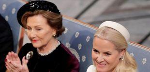Post de Deslucida cena de gala en Noruega: la baja de Sonia y Mette-Marit y sin rastro de Marta Luisa
