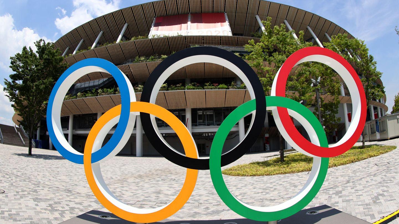 El Estadio Olímpico que albergará la ceremonia inaugural de los Juegos de Tokio (Reuters)