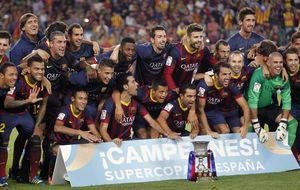 Un Barcelona supercampeón… pero más simplón que nunca