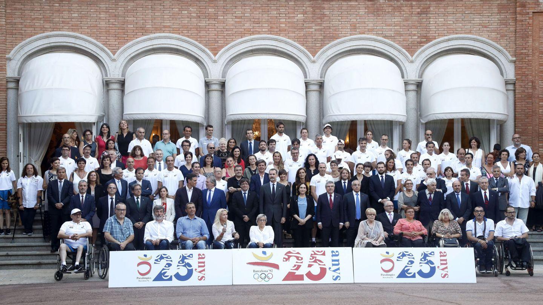 Acto conmemorativo del 25 aniversario de los Juegos Olímpicos de Barcelona'92.  (EFE)