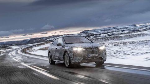 El BMW iX se enfrenta al frío polar para su desarrollo final
