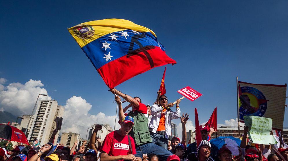 Foto: Manifestación en Venezuela. (Efe)