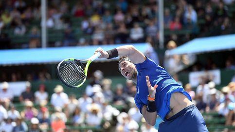Rafa Nadal cae ante Gasquet en un torneo de exhibición