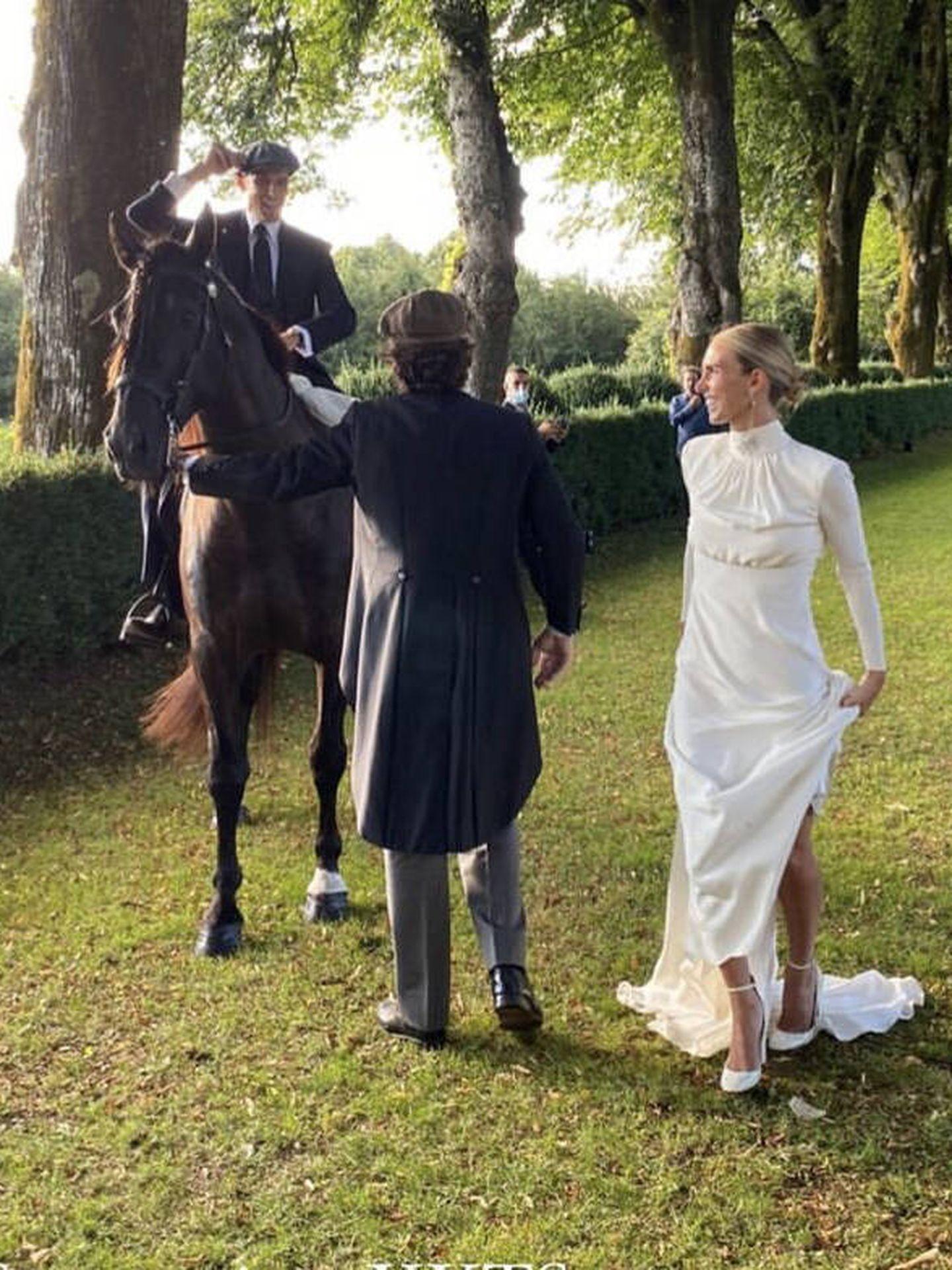 Lucía Bárcena y Marco Juncadella. (Imagen: Instagram)