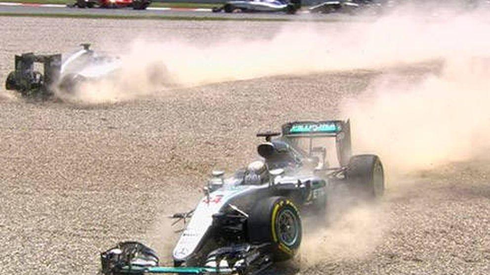 Mercedes no sabe a quién dar la colleja tras tirar a la basura la carrera
