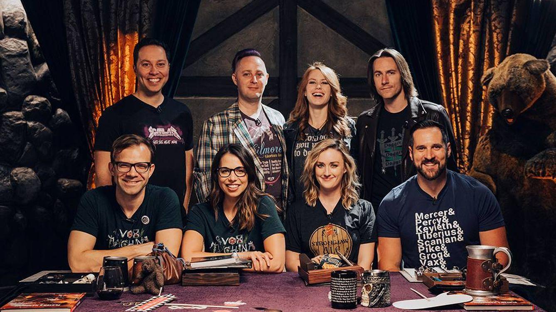 Foto: Los 8 amigos que están detrás de Critical Role. (Foto: Kickstarter)