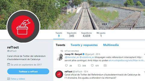 La Generalitat activa una cuenta de Twitter sobre la consulta tras el bloqueo de webs