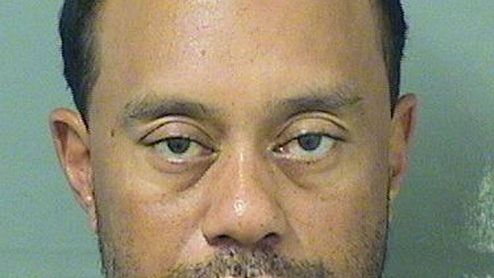 Tiger Woods, detenido por conducir bajo los efectos del alcohol y la marihuana