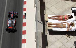 Ronda de champán de 400.000 €, la feria de las vanidades de Mónaco
