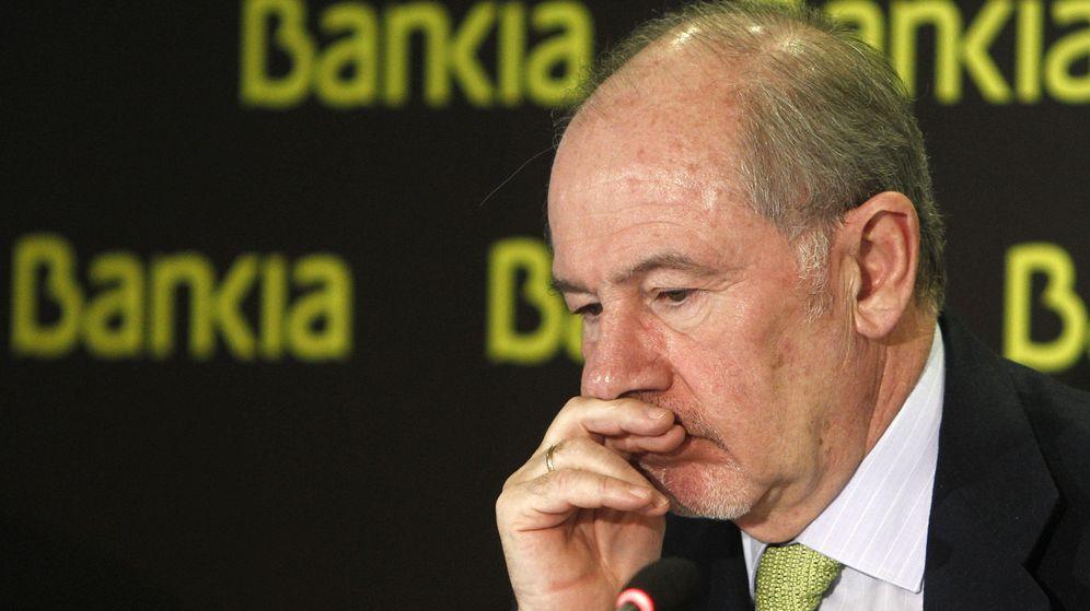 Foto: Rodrigo Rato, expresidente de Bankia