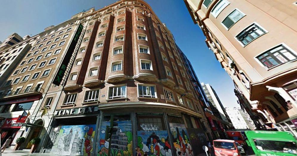 Foto: El edificio del Cine Rex en Gran Vía será un hotel de alto 'standing'. (Google)