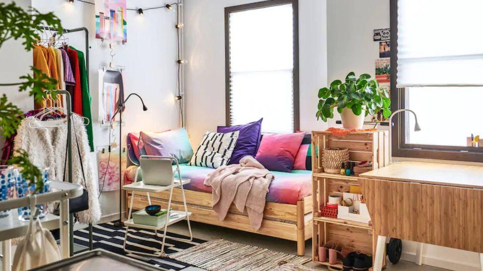 Si tienes un piso pequeño, estos trucos de decoración de Ikea y Leroy Merlin son para ti