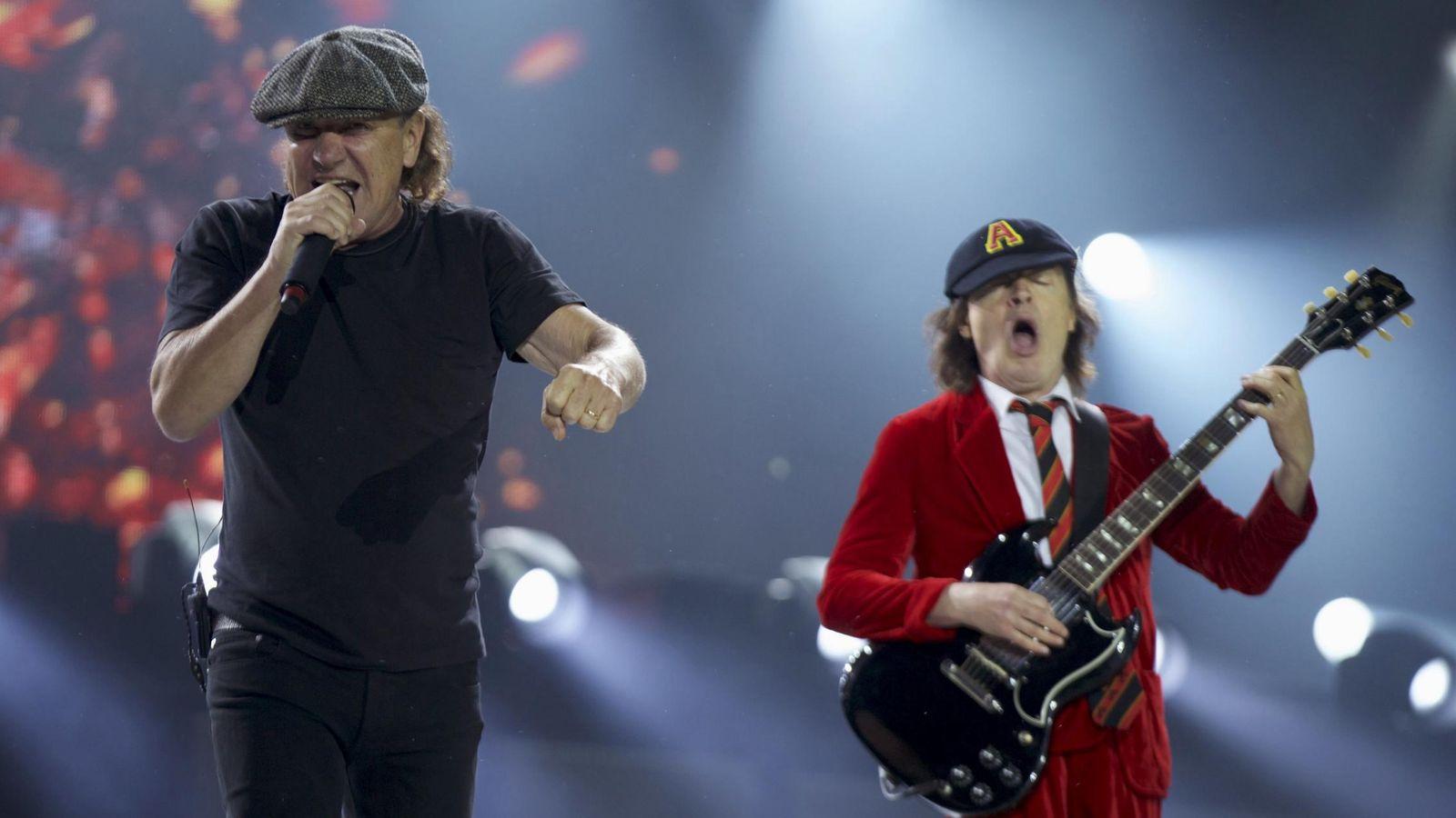 Heavy: Candidatos a sustituir a Brian Johnson, AC/DC