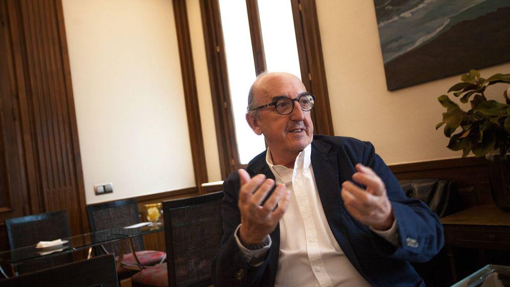 Foto: El fundador del Grupo Mediapro, Jaume Roures. (Enrique Villarino)
