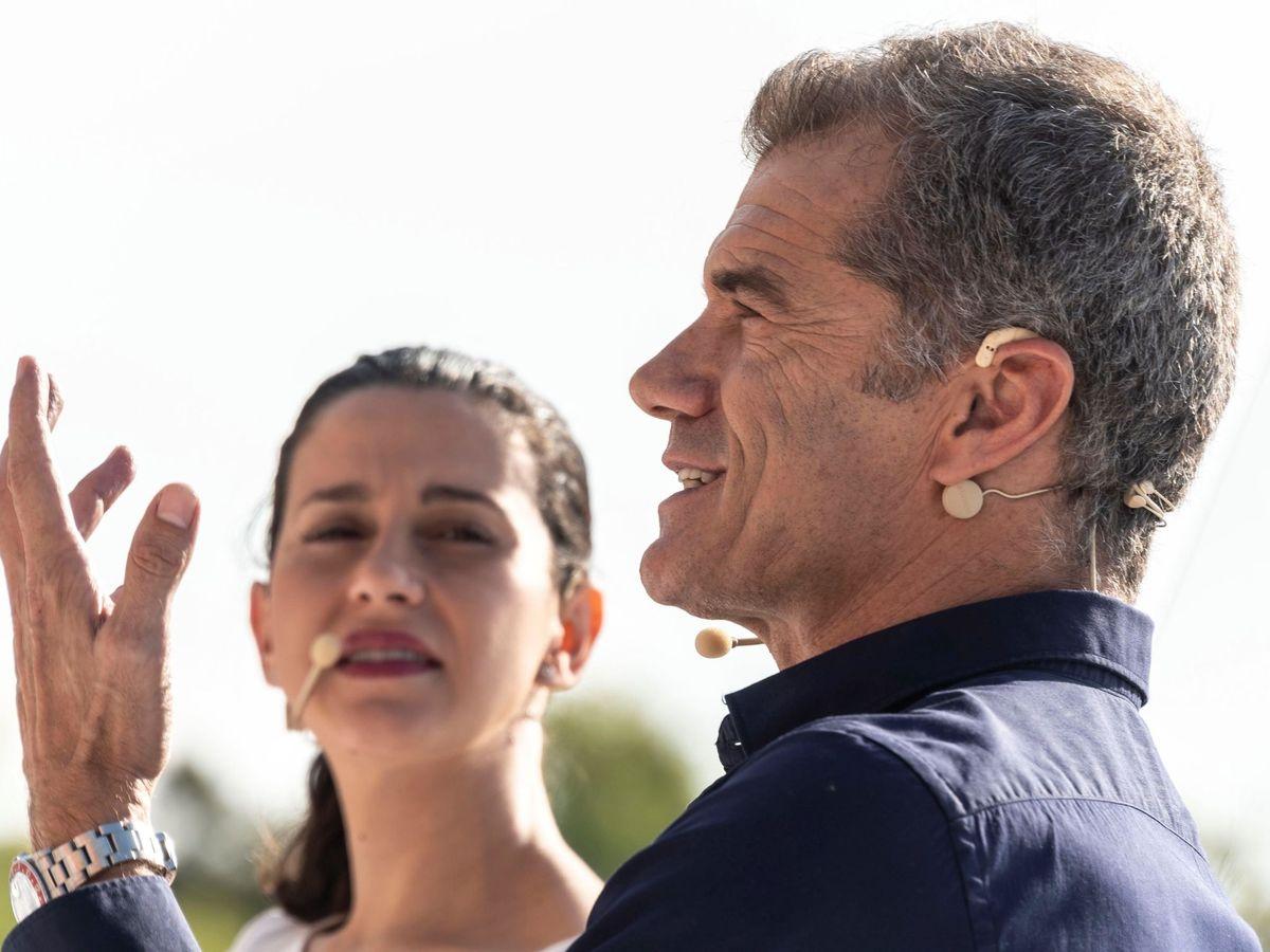 Foto: Inés Arrimadas, junto a Toni Cantó, en una imagen de 2018. (EFE)