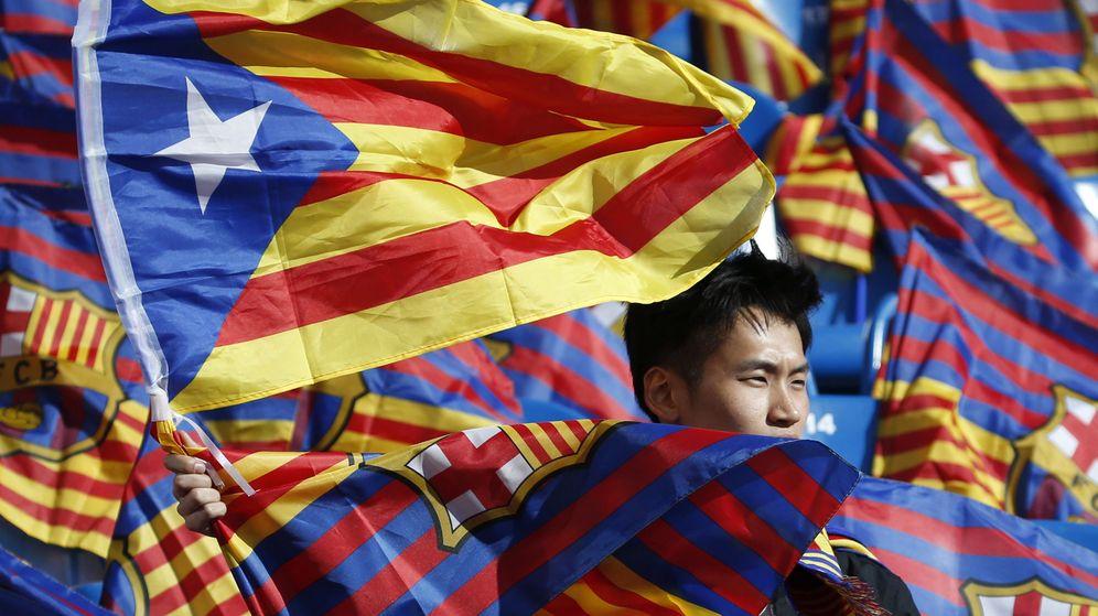 Foto: Un juez de Madrid avala que las esteladas de la final de Copa son libertad de expresión. (EFE)