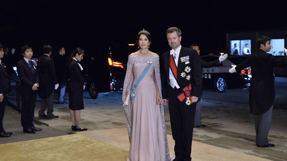 Foto: Los herederos de Dinamarca en la cena de gala. (Getty)