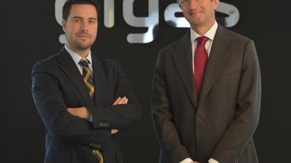 Foto: Los co-fundadores de Gigas, Diego Cabezudo, CEO, y Moisés Israel, presidente.