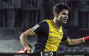 Costa y su Atlético erigen en Bilbao un monumento a la intensidad