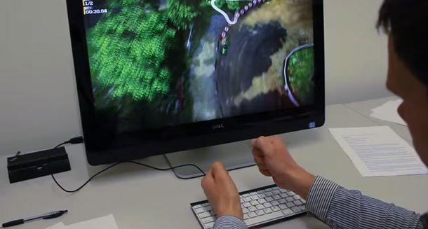 Foto: Microsoft desarrolla un teclado con control de gestos que no necesitas tocar