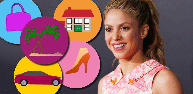 Balenciaga, Jimmy Choo o una isla privada: estas son las excentricidades de Shakira