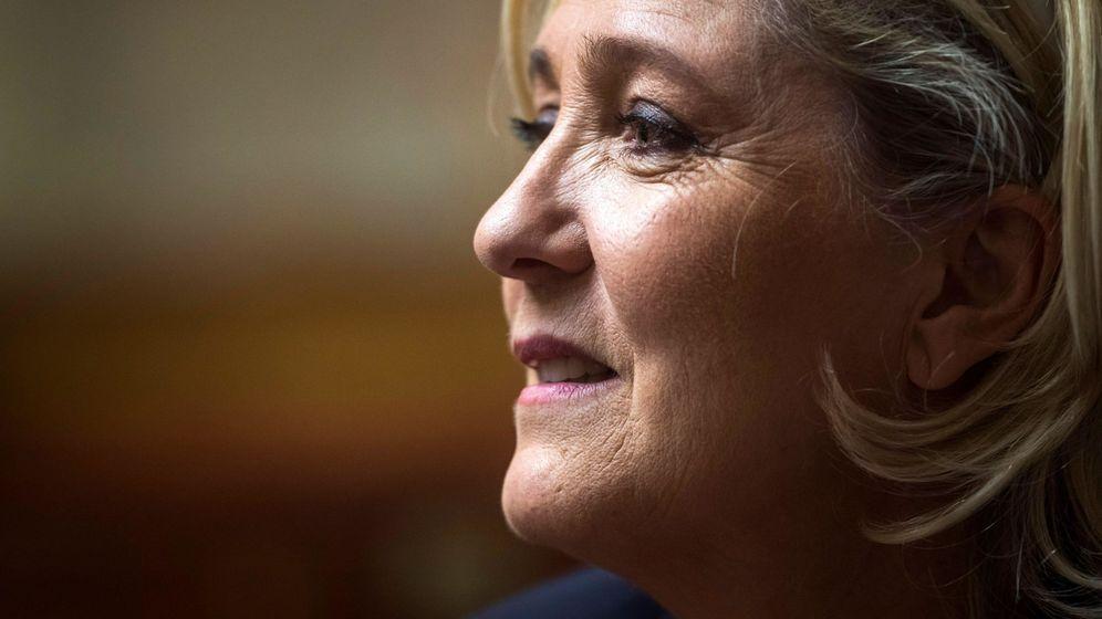 Foto: La presidenta de Agrupación Nacional, Marine Le Pen. (EFE)