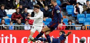 Post de Odriozola, baja en el Real Madrid por una fractura de clavícula