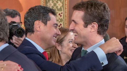 Moreno hace un homenaje al 'marianismo' y planta cara a la ofensiva independentista