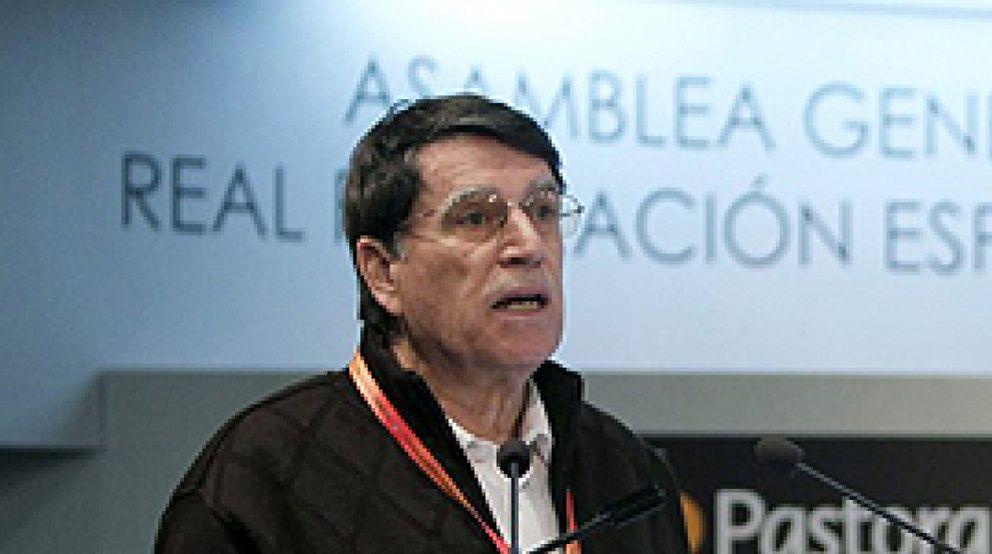 Foto: Odriozola, reelegido presidente para un séptimo mandato