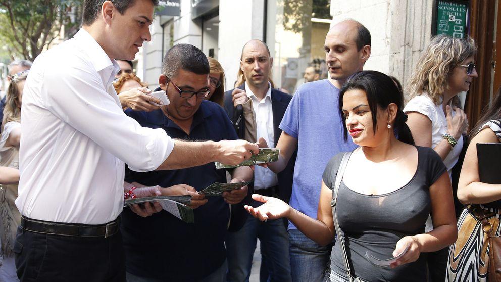 Sánchez no cambia la estrategia y cree que la amenaza de 'sorpasso' ya moviliza a los suyos