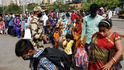 La pandemia continúa en India