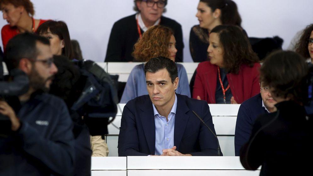Foto: El secretario general del PSOE, Pedro Sánchez, durante la reunión del Comité Federal del PSOE, el pasado 28 de diciembre. (Reuters)