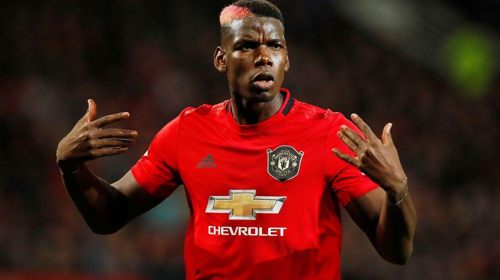 Foto: Paul Pogba con la camiseta del manchester United. (Reuters)