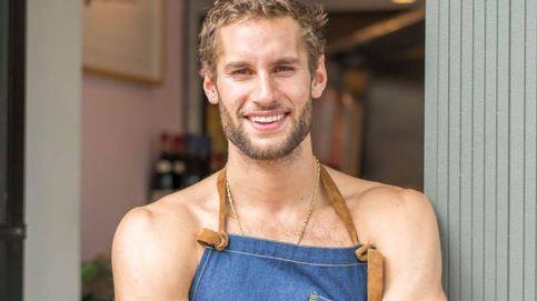 Franco Noriega, el modelo reconvertido en chef que enseña a cocinar medio desnudo